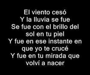 cancion, dulce maria, and frases image