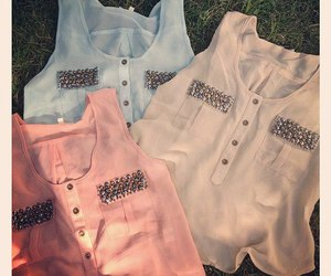 fashion, shirt, and blouse image