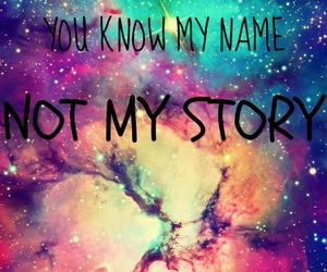 galaxy, quotes, and name image