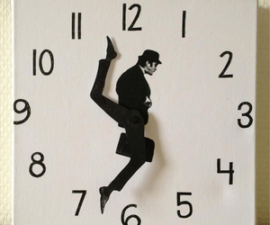 british, clock, and John Cleese image