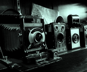 cameras, large format, and vintage image