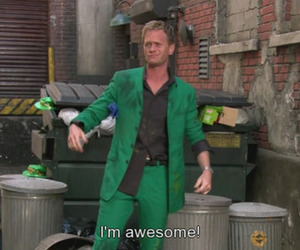 Barney Stinson, awesome, and how i met your mother image