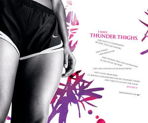 nike and thighs image