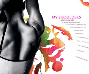 shoulders and nike image