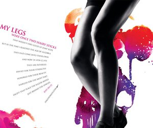 legs and nike image