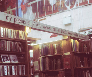 books, quote, and poem image
