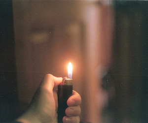 fire, lighter, and photography image