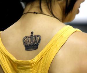 coroa, crown, and girl image