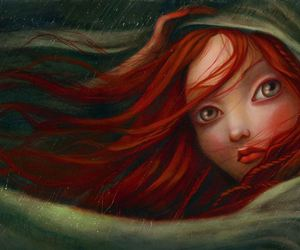 Benjamin Lacombe, anime, and digital art image