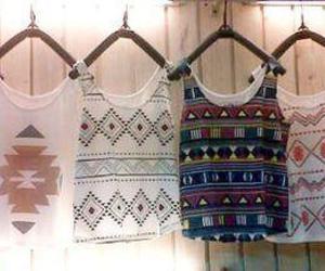 fashion, shirt, and aztec image