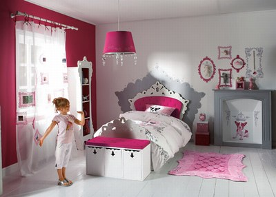 Design chambre fille: Design chambre fille on We Heart It