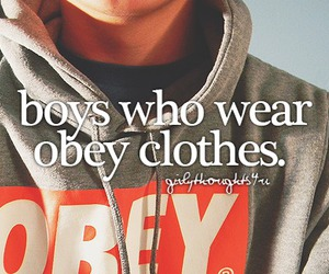 boy, clothes, and obey image