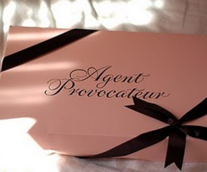 agent provocateur, box, and lingerie image