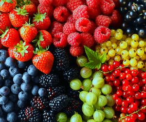 berries, calories, and food image