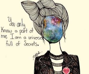 secret, universe, and quote image