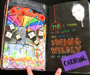 creativity, wreck this journal, and fun image