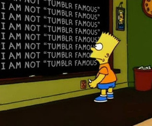 tumblr, simpsons, and bart image