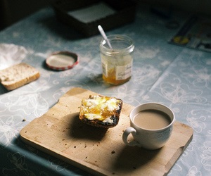 vintage, breakfast, and coffee image