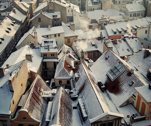 city, cute, and Houses image
