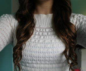 hair, cute, and curls image