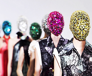 haute couture and mask image