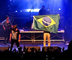 3OH!3, brazil, and concert image