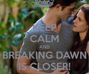 breaking dawn, calm, and text image