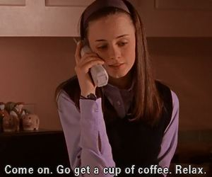 gilmore girls and caffeine addiction image