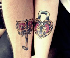 key and tattoo image