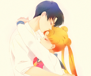 sailor moon, anime, and mamoru image