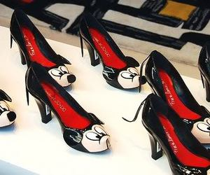 mickey, shoes, and disney image