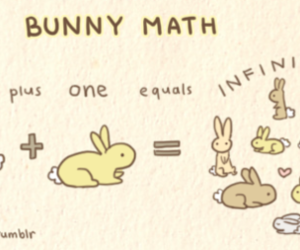bunny, cute, and drawing image