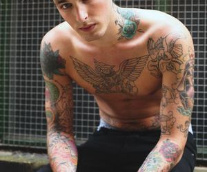 haha, sexy, and tattoo image