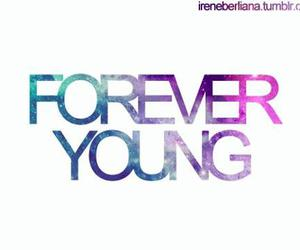 cool, Forever Young, and galaxy image