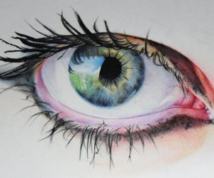 beautiful, portrait, and drawing image