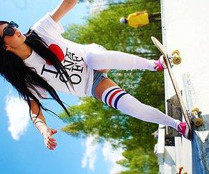 girl and skate image