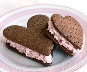 heart, food, and ice cream image