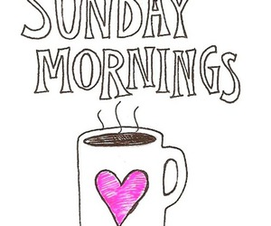 Sunday, love, and coffee image