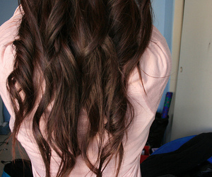 beutiful, hair, and curls image