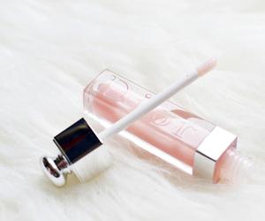 dior, pink, and lipgloss image