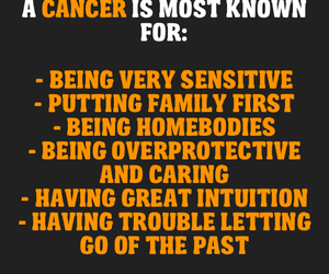 cancer, horoscope, and zodiac image