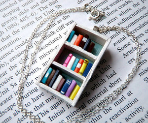 books and necklace image