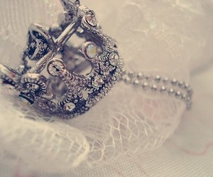 crown, silver, and necklace image
