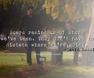 criminal minds, quote, and scars image