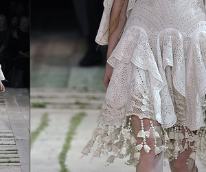 dress, fashion, and mcqueen image