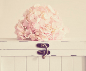 flowers, pink, and vintage image