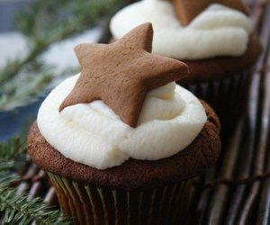 chocolate, cream, and muffin image
