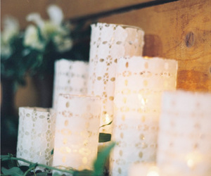 candles, decorating, and diy image