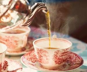 tea, vintage, and drink image