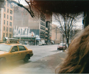 vintage, photography, and taxi image